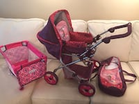 toddler's pink and purple stroller Edmonton, T6L 1M6