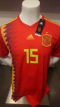 Spain Home/Away Jerseys  Mississauga, L5B 4M7