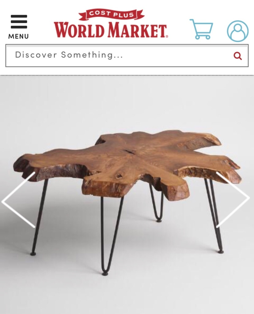Photo Coffee or Accent Table - World Market