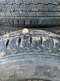 "I have five 17"" Grabber tires 245/75R17 Red Deer, T4R 0H4"