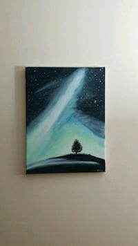 Alone tree painting  Toronto, M4X 1P1