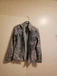Flowered Jean jacket  Kamloops, V2B 1M6