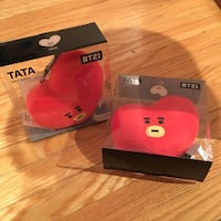 BT21 BTS TATA Keychain - sealed, bought from STC pop up shop Toronto, M2K