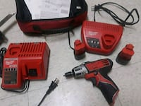 red and black Milwaukee cordless impact wrench Alexandria, 22306