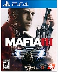 Mafia 3 PS4 NIB Ajax, L1S 2T6