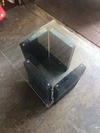 Glass end table and matching coffee table Richmond, V6V 2K8