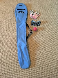 Girls lacrosse set (stick not included) Canton, 02021