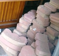 Red bricks $1.50 each first come no holds Chestertown, 21620