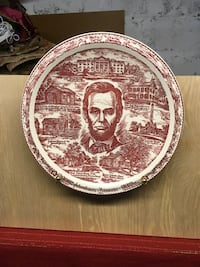 Lincoln plate collectible