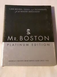 MR. BOSTON Platinum Edition Drink Mixing Guide Cornwall, ON, Canada
