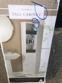 Tall cabinet and space saver both for $180 each one cost me $150 in store.  Rockville, 20851