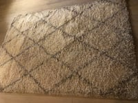 White/Grey 5x7 Rug Newport Beach, 92663