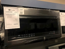 TAKE HOME FOR $40 DOWN! Samsung Microwave Built In Black Stainless #2738
