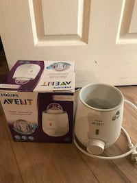 Philips Avent fast bottle warmer. Barely used. Excellent condition  New Westminster, V3L 3J9