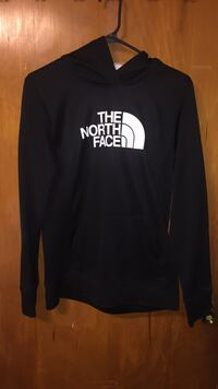 Black and white the north face pullover hoodie Del City, 73115