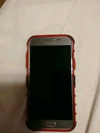 Samsung j3 with red case Troy, 45373