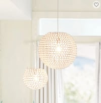 PB Teen Shimmer Pendant Lights - new in box. 225 OBO Washington, 20003