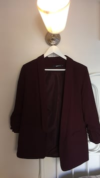 maroon formal dress jakke