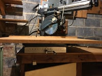Radial Arm Saw Mc Lean