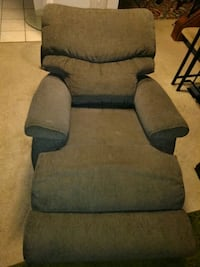 gray fabric padded glider chair Germantown, 20874