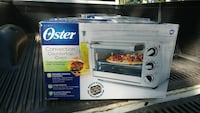 gray Oster convection countertop oven box
