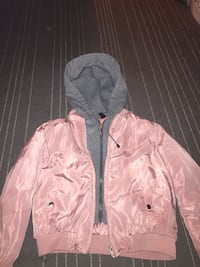 Pink and grey zip-up hoodie Winnipeg, R2W 1G6