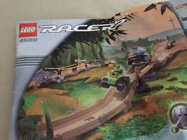 LEGO racing track-barely used-does not come w cars VINTAGE ORIGINAL!