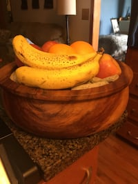 Gorgeous one piece wooden bowl