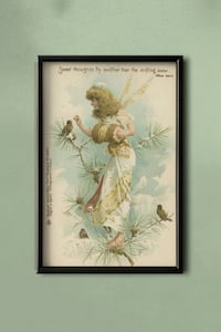 Vintage Fairy Canvas Artwork - Frame not Included Milton, L9T 6V2