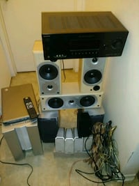 black and gray home theater system Ottawa, K1T 2C8