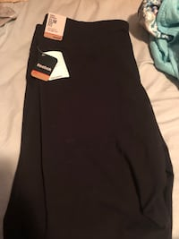 Black Reebok yoga pants