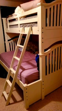 Belfort bunk bed Full + Twin with mattresses Centreville, 20120