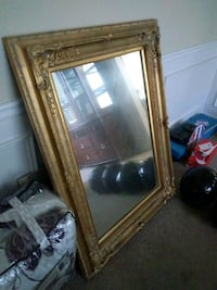 Gold framed wall mirror College Park, 30349