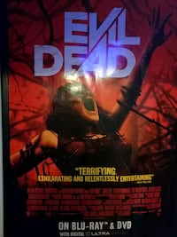 Evil Dead Theatrical Film Posters, THEN AND NOW Richmond, 23225