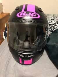 Size small ladies HJC helmet.  London, N5Y 4L6