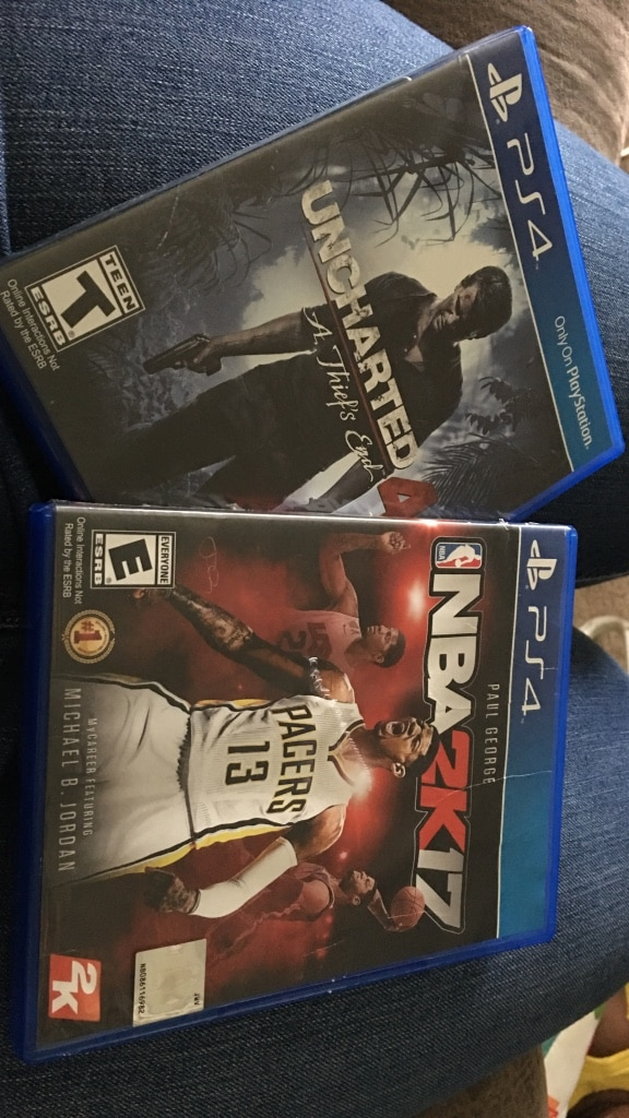 Two PS4 games