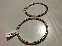 Large Hooped Earrings Chantilly