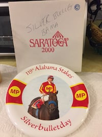 Saratoga collectible plate