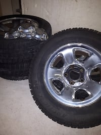 Chrome rims and tires Chatham-Kent