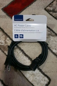 Ac power cable for PC and AC powered Devices