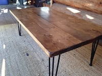Minimalist Rustic Reclaimed Coffee Table Langley, V2Y