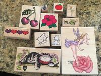 Wood stamps for crafting  Redmond, 98052