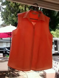 women's orange sleeveless top Maple Ridge, V2X 3H8