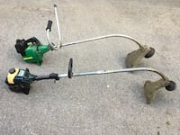 Grass trimmers. $25. Each. Both for $40. Evans City, 16033