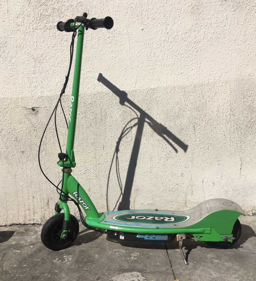 green and black Razor kick scooter for sale  Los Angeles