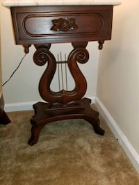 Antique Marble Top Harp  End Tables New Orleans, 70117