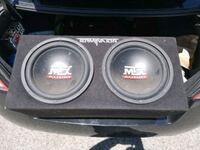 black and gray Pioneer subwoofer speaker Sarnia, N7S 5P4