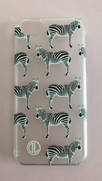 iPhone 7 zebra case