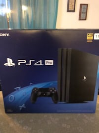 PS4 Pro Brand New In Box and Remote