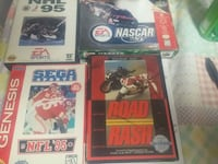 4 complete in box games Richwood, 43344